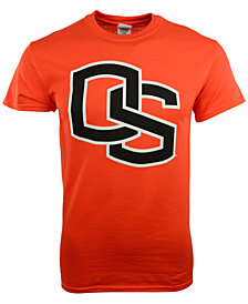 New Agenda Men's Oregon State Beavers Big Logo T-Shirt