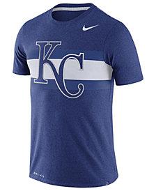 Nike Men's Kansas City Royals Dri-Blend Stripes T-Shirt