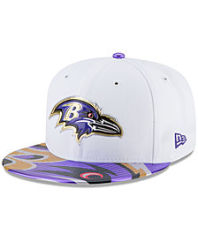 New Era Boys' Baltimore Ravens 2017 Draft 59FIFTY Cap
