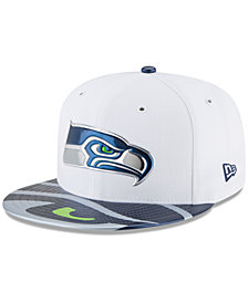 New Era Boys' Seattle Seahawks 2017 Draft 59FIFTY Cap