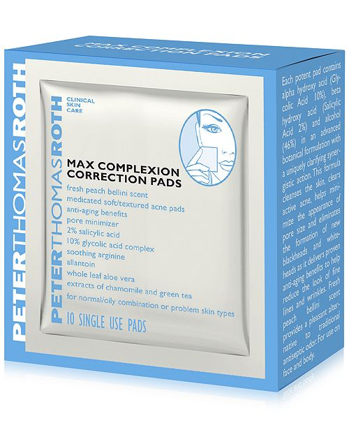 Peter Thomas Roth Max Complexion Correction Pads, 10-Pk.