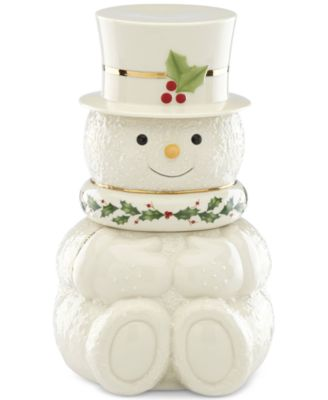 Happy Holly Days Snowman 3 Stackable Bowls Set