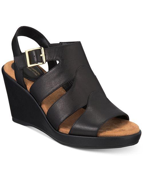 Giani Bernini Wirla Platform Wedge Sandals, Created for Macy's