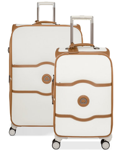 Delsey Chatelet Plus Softside Expandable Spinner Luggage Collection