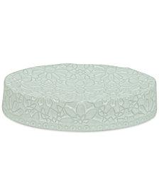 Jessica Simpson Bonito White Soap Dish