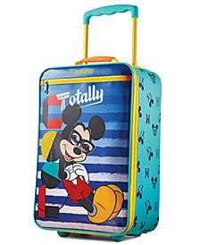 "Disney Mickey Mouse 18"" Softside Rolling Suitcase By American Tourister"