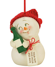 Department 56 Snowpinions Love The Wine You Are With Ornament