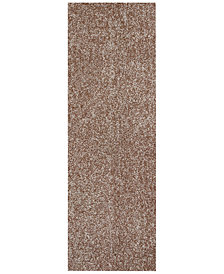 "Kas Bliss Heather Shag 2'3"" x 7'6"" Runner Rug"