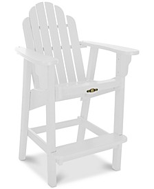 Essentials Counter Height Outdoor Adirondack Chair