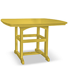Pawleys Island Small Outdoor Dining Table, Quick Ship