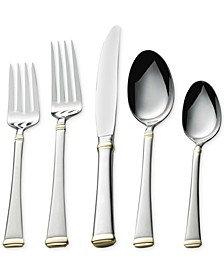 Gold Harmony 65 Pc Set, Service for 12
