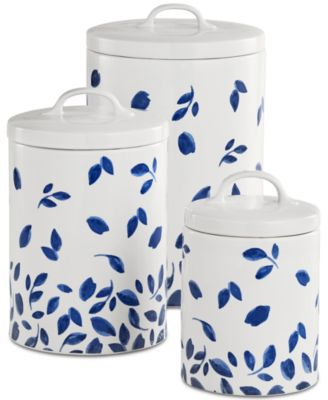 CLOSEOUT! 6-Pc. Stockholm Lidded Canisters Set, Created for Macy's