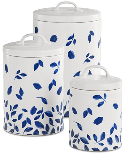 stewart kitchen canisters martha stewart collection 6 pc stockholm lidded canisters