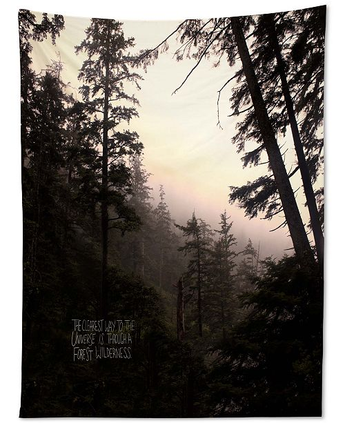 Deny Designs Leah Flores Forest Universe Tapestry
