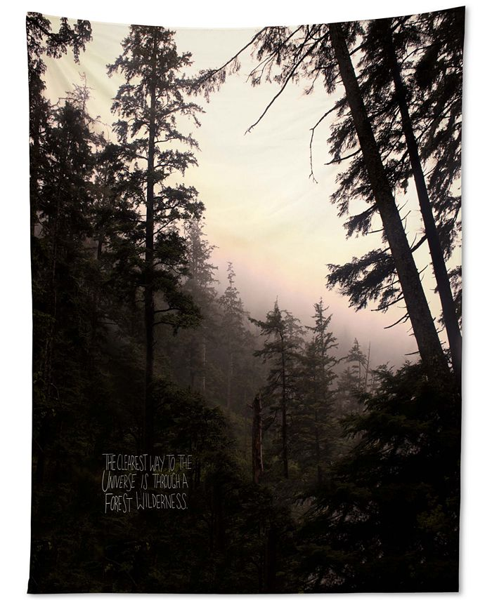 Deny Designs - Leah Flores Forest Universe Tapestry
