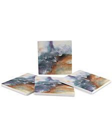 Thirstystone Moonstone 4-Pc. Coaster Set