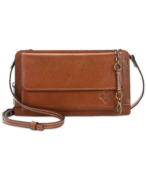hot sale online cheapest price men/man Azario Smooth Leather Crossbody Organizer Wallet