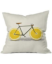 """Florent Bodart Zest I 16"""" Square Decorative Pillow"""