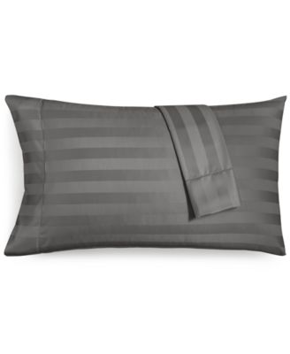 charter club damask stripe king pillowcase set 550 thread count 100 supima cotton