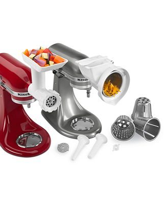 Kitchenaid Stand Mixer Accessory Set kitchenaid kgssa gourmet stand mixer attachment kit - electrics