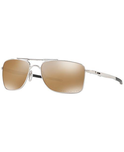 Oakley Polarized Gauge 8 Sunglasses, OO4124 62