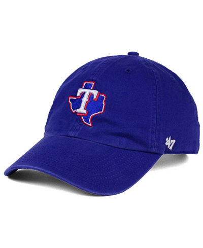 '47 Brand Texas Rangers Core CLEAN UP Cap