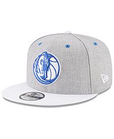 New Era Dallas Mavericks White Vize 9FIFTY Snapback Cap