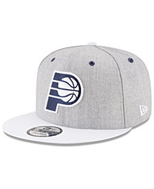 New Era Indiana Pacers White Vize 9FIFTY Snapback Cap