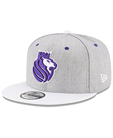 New Era Sacramento Kings White Vize 9FIFTY Snapback Cap