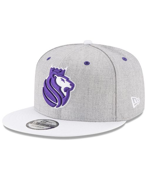 watch 8b5a0 25579 New Era. Sacramento Kings White Vize 9FIFTY Snapback Cap. Be the first to  Write a Review. main image ...