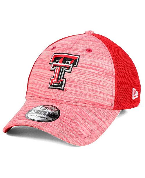 c6409379481 New Era Texas Tech Red Raiders Tonal Tint 39thirty Cap Sports Fan