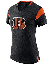 Nike Women's Cincinnati Bengals Fan V-Top T-Shirt