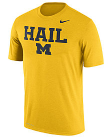 Nike Men's Michigan Wolverines Legend Verbiage T-Shirt