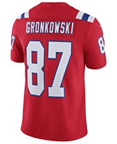 f240039a674ac Nike Men s Rob Gronkowski New England Patriots Vapor Untouchable Limited  Jersey