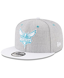 New Era Charlotte Hornets White Vize 9FIFTY Snapback Cap