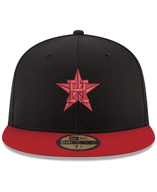 4b3d43a42f55 ... australia new era houston astros black red 59fifty fitted cap sports  fan shop by lids men