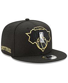 New Era New York Knicks Playoff Push 9FIFTY Snapback Cap