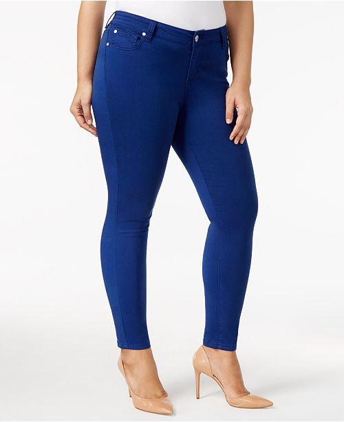 ab58276262e49 Celebrity Pink Trendy Plus Size Jayden Colored Skinny Jeans - Macy s