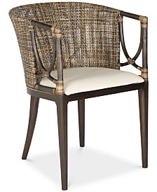 Donatella Rattan Chair, Quick Ship