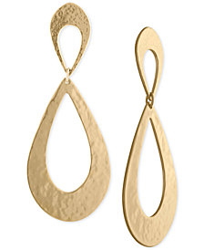 RACHEL Rachel Roy Gold-Tone Drop Earrings