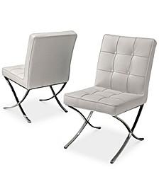 Kalem Dining Chairs (Set of 2), Quick Ship