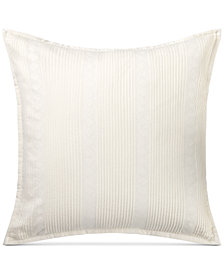 "Lauren Ralph Lauren Kelsey Pintucked 18"" Square Decorative Pillow"