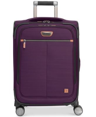 """CLOSEOUT! Cabrillo 21"""" Softside Spinner Carry-On, Created for Macy's"""