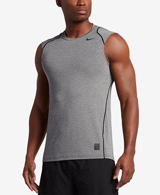 Nike Men S Pro Cool Dri Fit Fitted Sleeveless Shirt