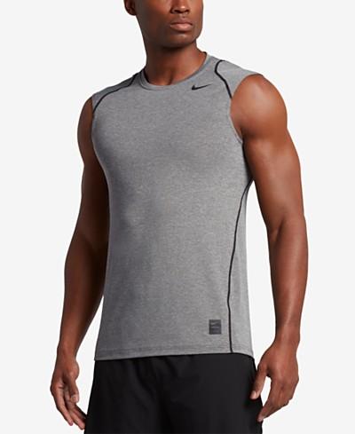 Nike Men's Pro Cool Dri-FIT Fitted Sleeveless Shirt