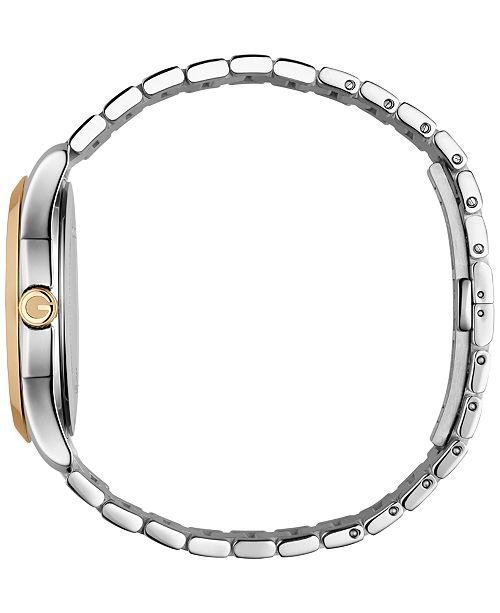 291ee6aab68 ... Gucci Men s Swiss G-Timeless Two-Tone PVD Stainless Steel Bracelet  Watch 38mm YA126450 ...