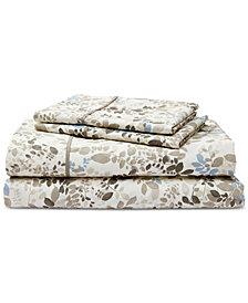 Lauren Ralph Lauren Devon Cotton Percale Count 4-Pc. California King Sheet Set