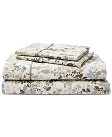 Lauren Ralph Lauren Devon Cotton Percale Count 4-Pc. California King Sheet Set