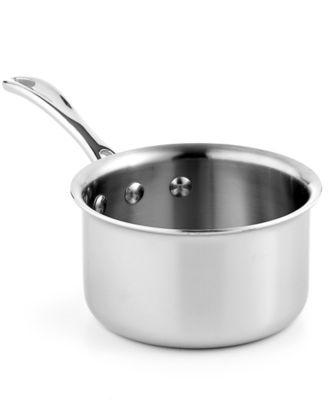 calphalon triply stainless steel 1 qt saucepan