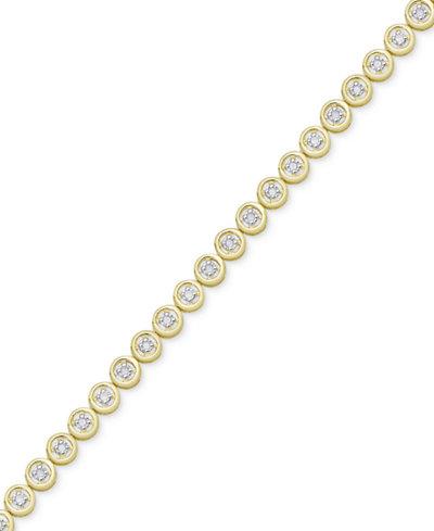 Diamond Circle Link Bracelet (1/4 ct. t.w.)